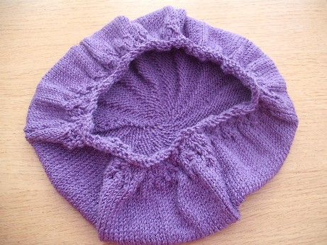 Lilac hat 1