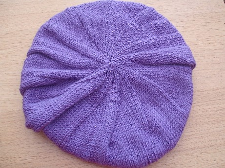 Lilac hat 2