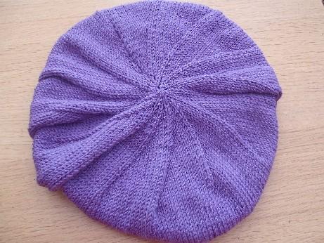 Lilac hat 2