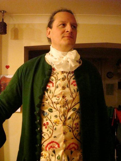Bucket's waistcoat finished
