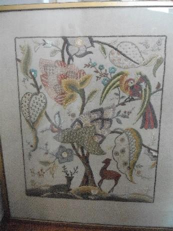 hall crewel embroidery