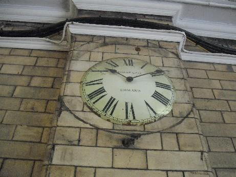 Hebden clock