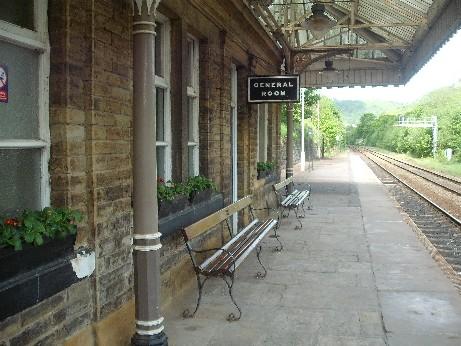 Hebden station