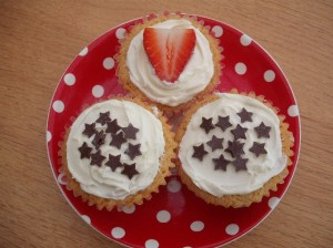 May cupcakes