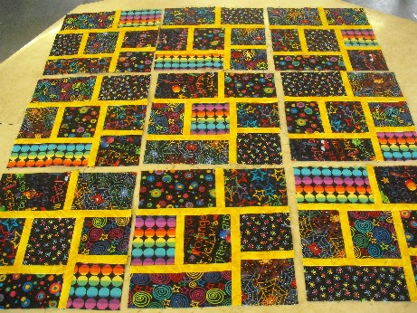 May - Davina's quilt blocks