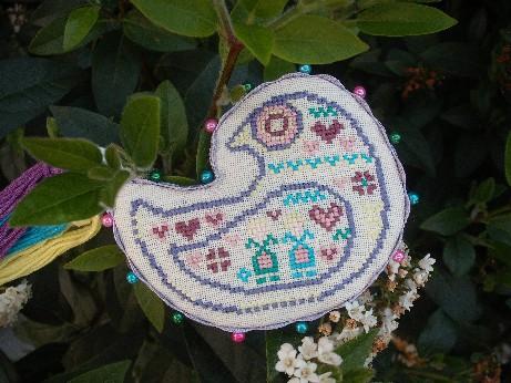 Spring bird ornie 2