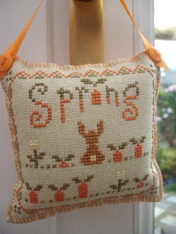 Spring Ornie exchange - front