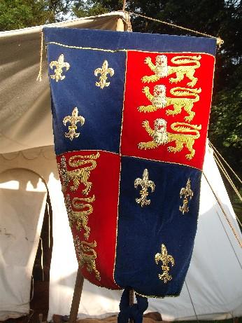 King's banner
