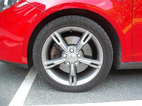 wheel trim