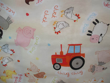 farm quilt backing fabric