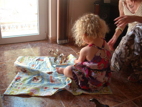 Spain - Anna - Mae quilt