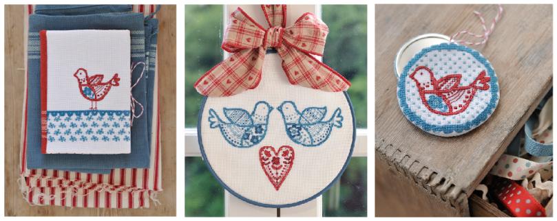 Xmas ornies cross stitcher 2