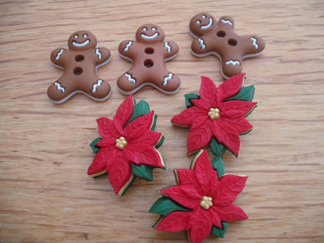 buttons gingerbread