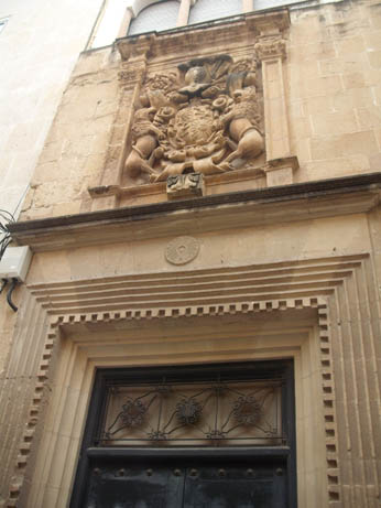 Spain Oct 2011 Elche door 2