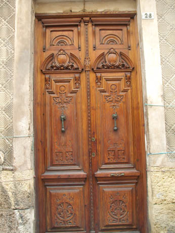 Spain Oct 2011 Elche door 3