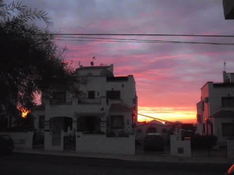 Spain Oct 2011 sunrise