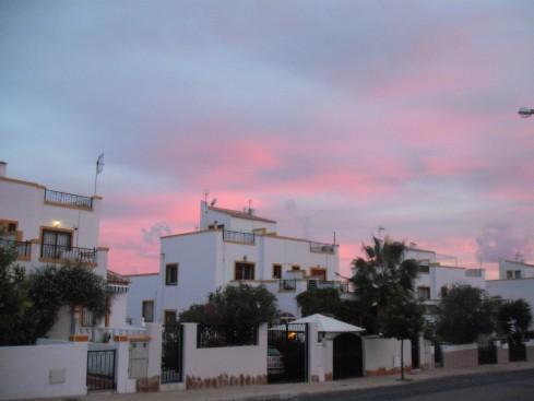 Spain Oct 2011 sunset
