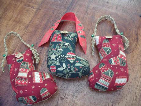 Xmas stocking ornies 1