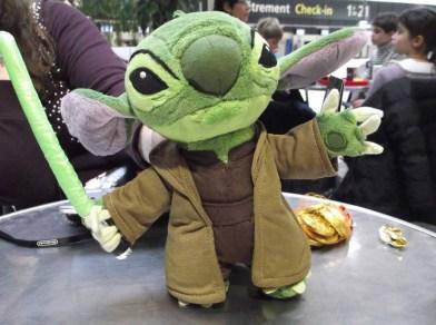 Y - Yoda Stitch