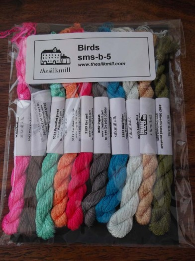 Birds silks