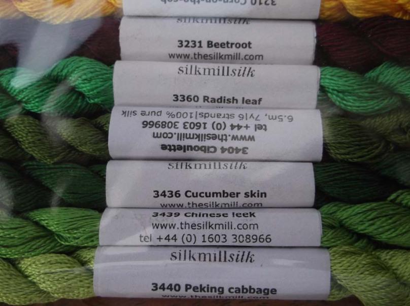Greengrocer silks detail
