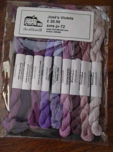 Violet silks
