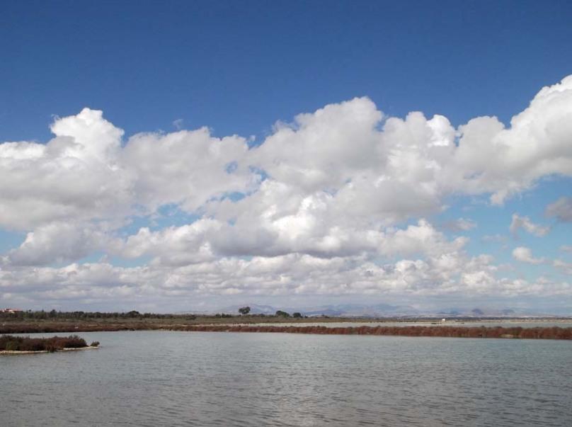Spain Feb 2012 beach clouds
