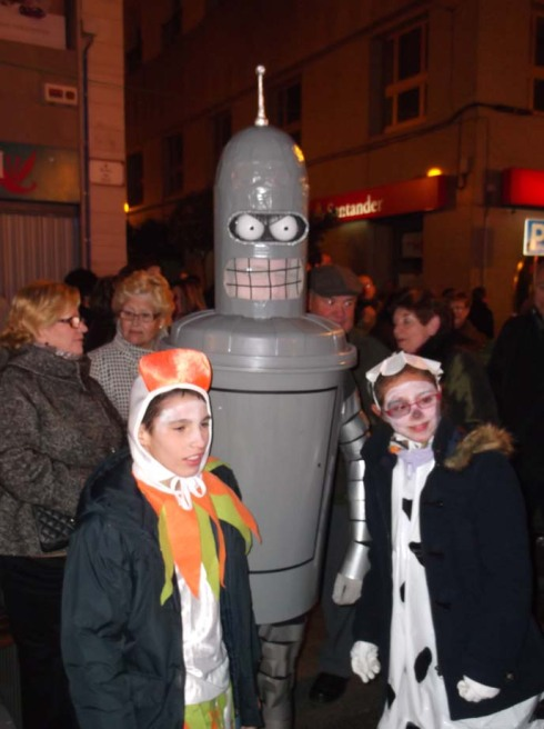 Spain Feb 2012 Elche festival 2