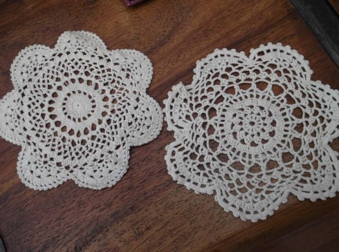 Chinese lace