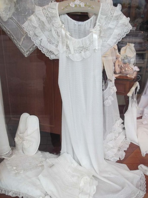 Italy - lace shop 1