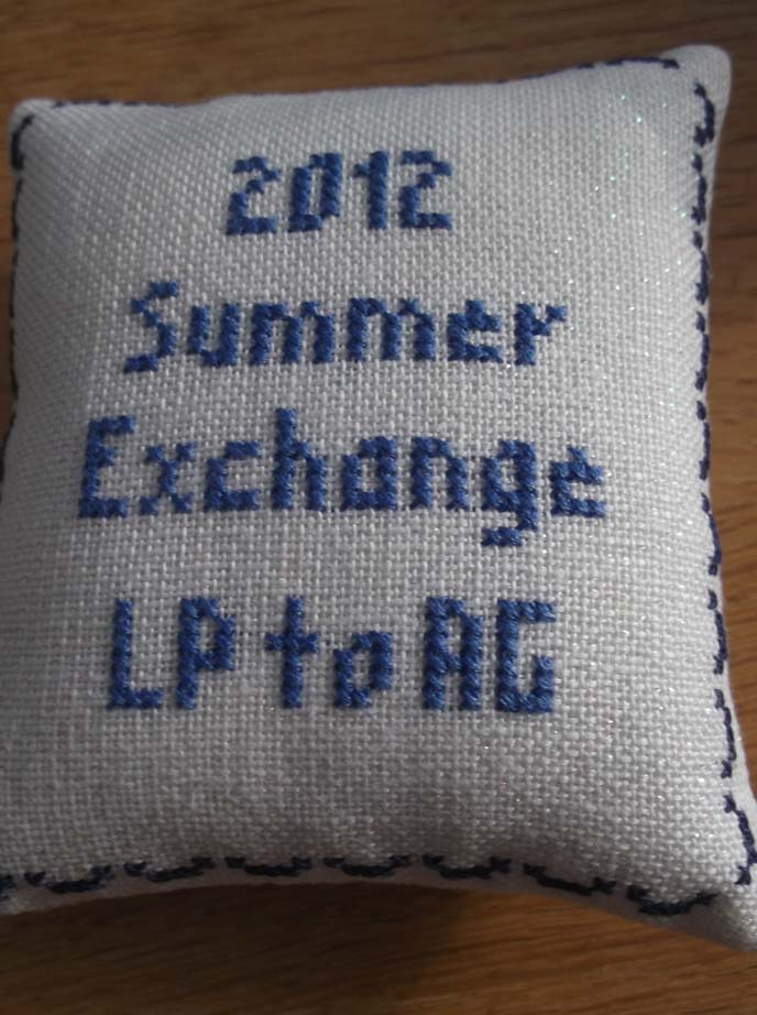 Summer Exchange - back