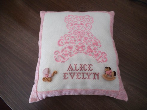 Alice - pillow