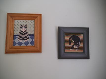 Needlepoint cats 1