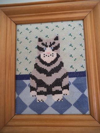 Needlepoint cats 2