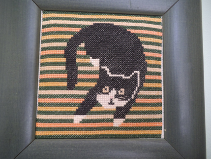 Needlepoint cats 3
