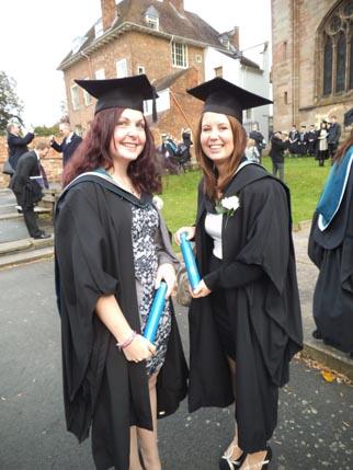 Ellie - graduation 1