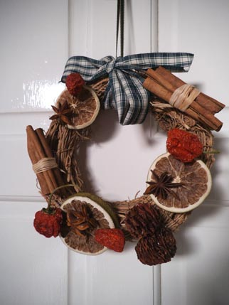 Lily Blossom wreath