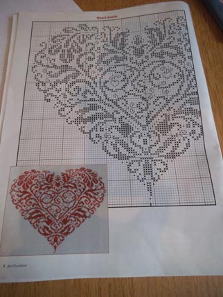 Heart cross stitch 1