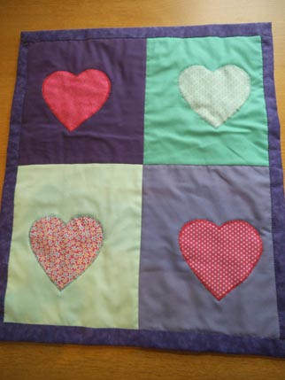 Sweet treats quilt 4