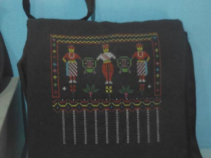 China Nationalities Museum Cross Stitch bag