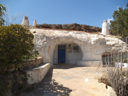 Spain March cave houses 1