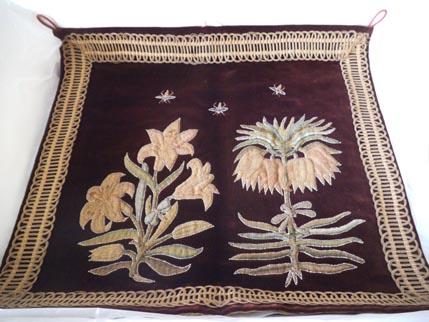 Hardwick - Flower velvet 1