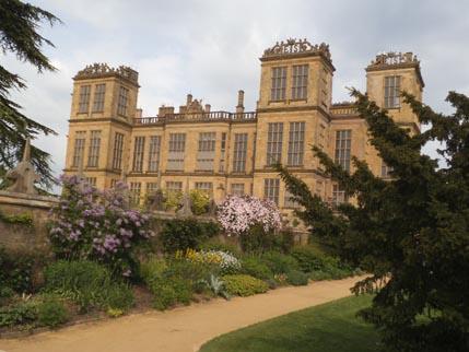 Hardwick - garden