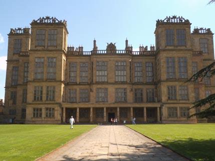 Hardwick - hall front