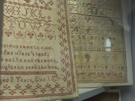 Snowshill textiles 2