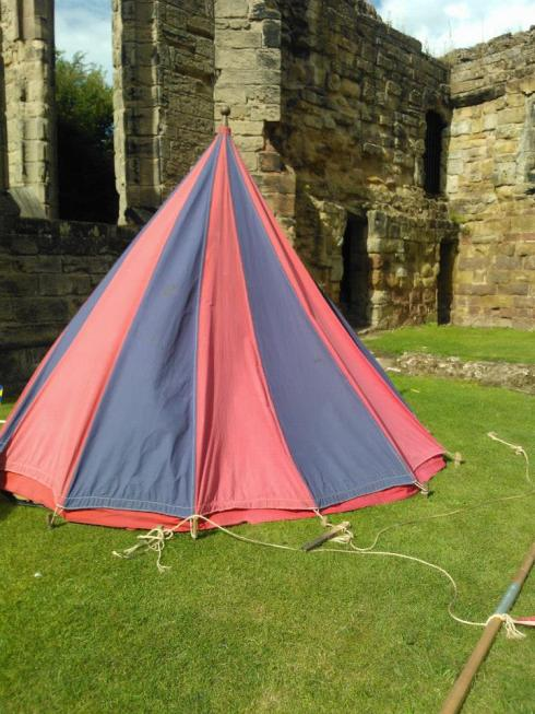 Tent at Ashby
