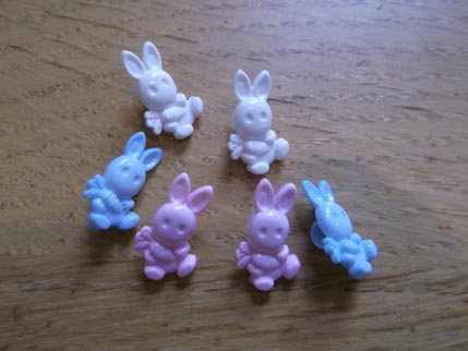 Bunny buttons