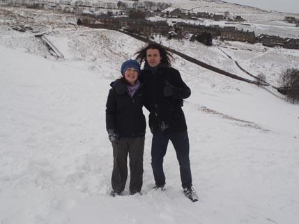 Houseaversary - snow 1