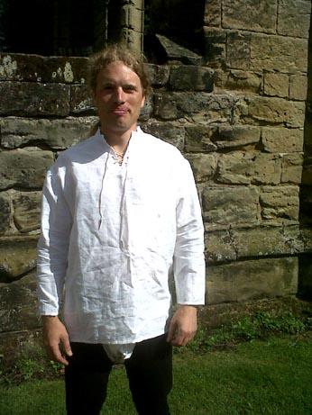 Jamie - new shirt