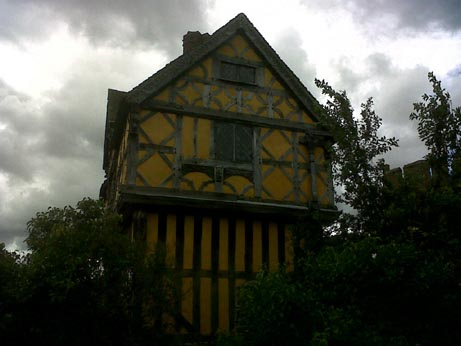 Stokesay Castle House 2